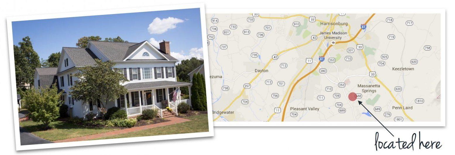 barrington house and map of barrington location