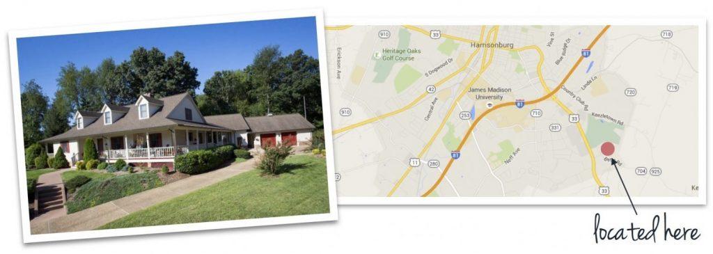 fairway hills house and map of neighborhood location