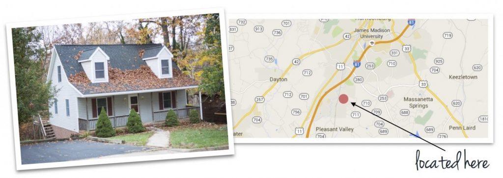 greendale house and map of neighborhood location