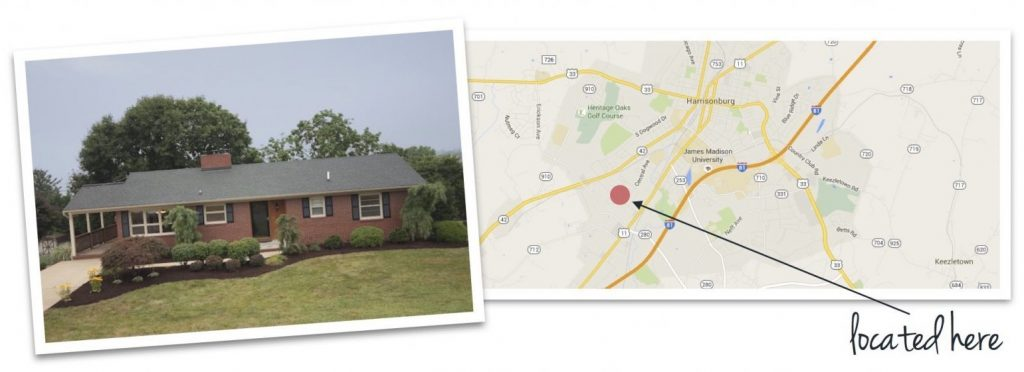 pleasant hill acres house and map of neighborhood location