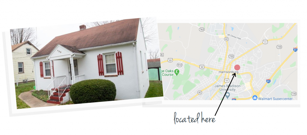 northeast neighborhood house and map of neighborhood location