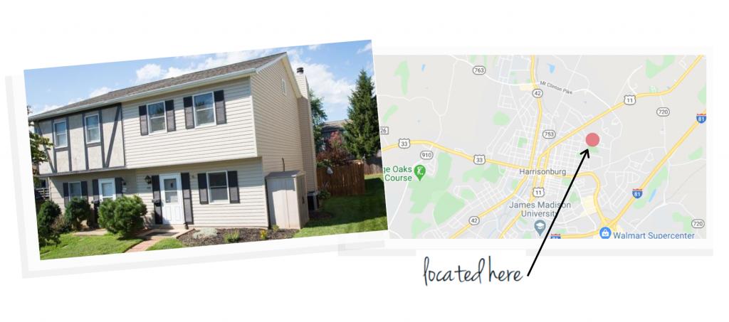 northfield neighborhood house and map of neighborhood location