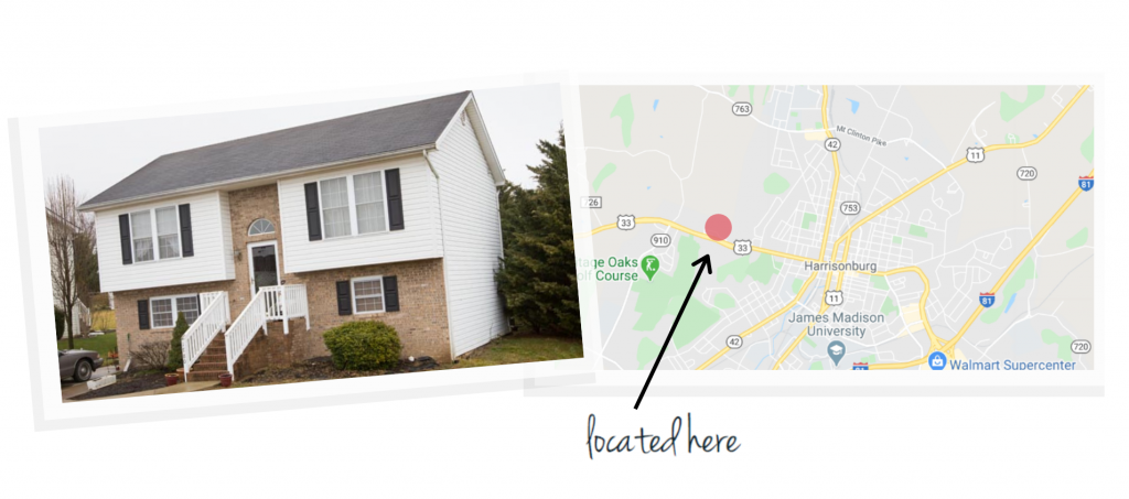 westfield house and map of neighborhood location